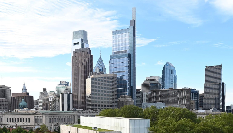 The best app view of Philadelphia - 2100 Hamilton luxury condominium